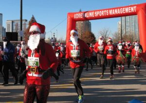 Santa Hustle 5K Chicago