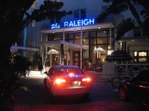 The Raleigh Hotel on Miami Beach