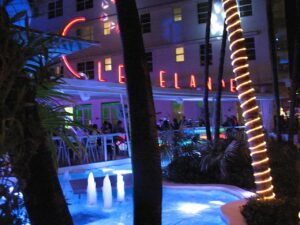The Clevelander Hotel in Miami Beach, Florida