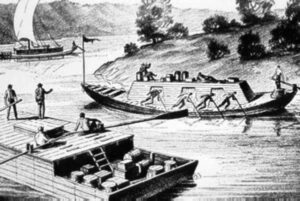 Lillburne and Charles Lewis and the family journeyed down the Ohio to Kentucky