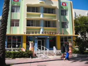The Berkely Shore Hotel on Miami Beach