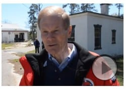 Video of Florida Senator Bill Nelson at the White House at the Dozier School for Boys