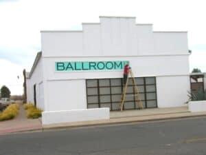 Ballroom gallery in Marfa, TX