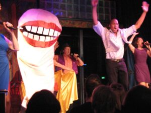 Opening number at Esther's Follies in Austin, Texas