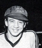 Stevie Ray Vaughn at 17 when he first arrived in Austin