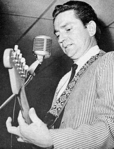 All through the 60's he wrote songs for others but couldn't become a recognized performer in his own right.