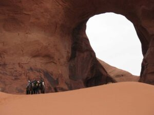 The Ear of the Wind at Monument Valley