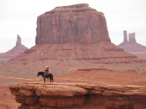 Monument Valley Horseman