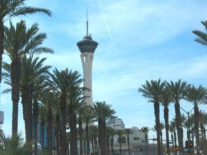 The Stratosphere Tower is the tallest structure in Las Vegas