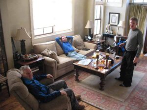 Andrew Knowles, Don Palmer and Curt Logan at Telluride