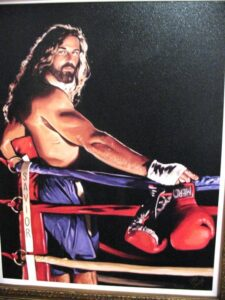 Jesus as a prize fighter