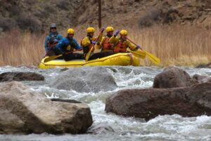 River rafting on the Arkansas River with Royal Gorge Rafting