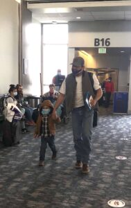 The jetway is the first place passengers can escape mask wearing