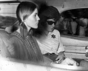 Linda Kasabian being driven to court