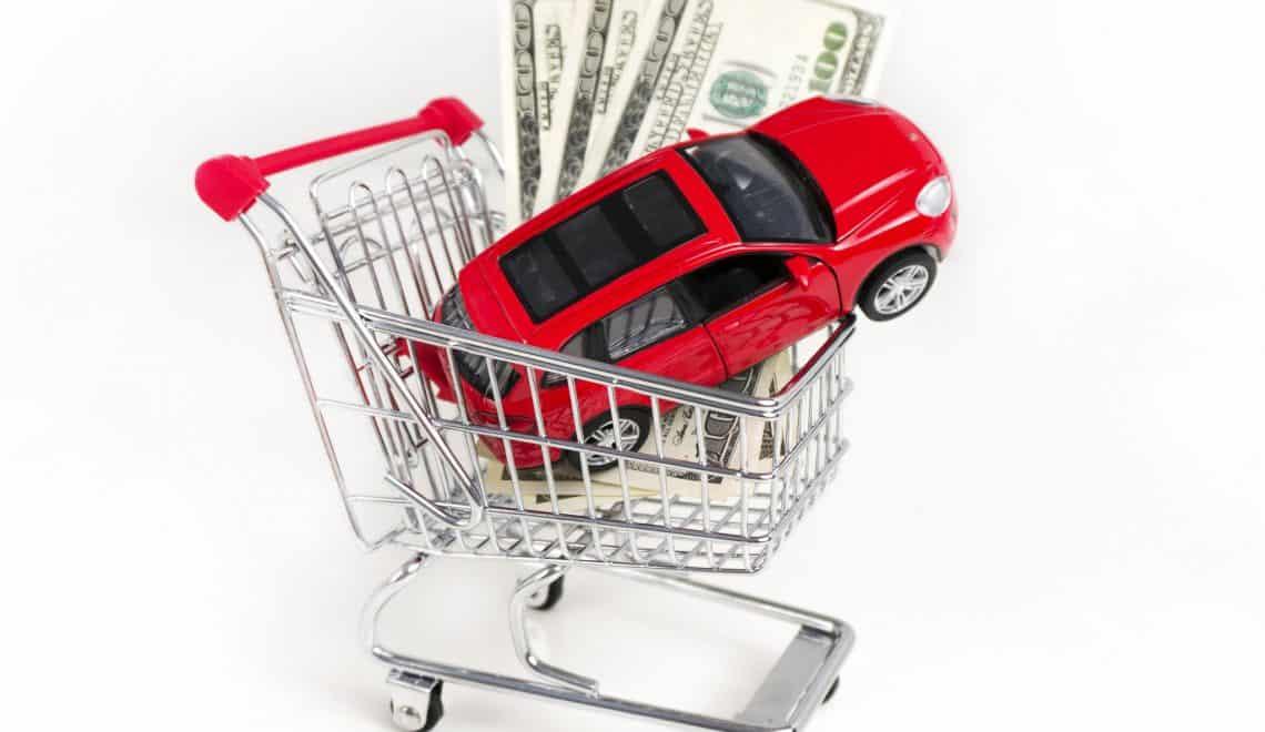 Rental car at low price