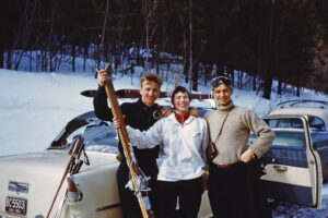 Sun Valley skiers in 1950