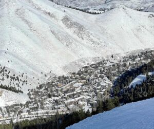 Ketchum as seen from Bald Mountain