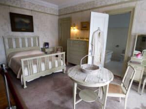 The murder bedroom at Glensheen