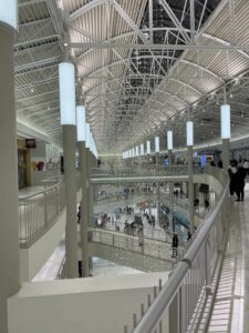 Indoor shopping mall