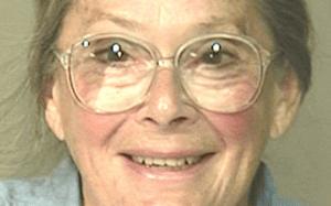 Marjorie Congdon Caldwell smiling