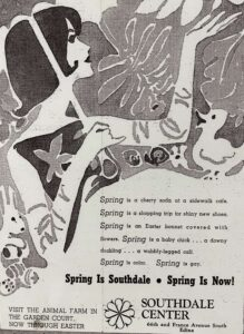 Advertisement for Southdale Center 1952