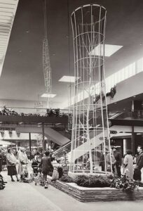 Southdale Center central atrium 1957