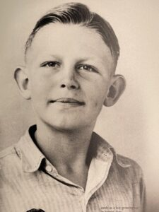 Andy Griffith as a boy