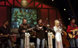 Dolly Parton at the Grand Ole Opry