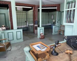 Replica Mayberry Courthouse in Mount AIry