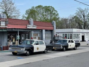 Wally's Service Station in Mount Airy
