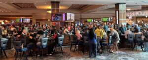 Gaming floor at Foxwoods Resort Casino