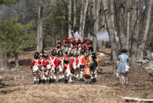 Redcoats on The Battle Road