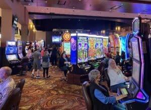 Slot machines at Foxwoods Resort Casino