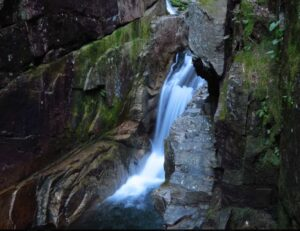 Sabbaday Falls on the Kancamagus Scenic Byway