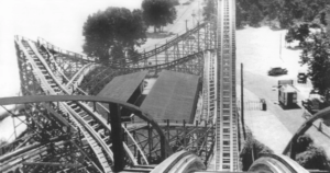 View from the top of the Cyclone