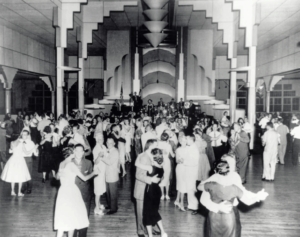 Dancers at the Coliseum Ballroom in the 1940's