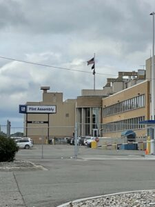 The GM Assembly plant in Flint