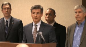 MDEQ Director Dan Wyant backed by Governor Snyder
