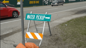 Water pick up